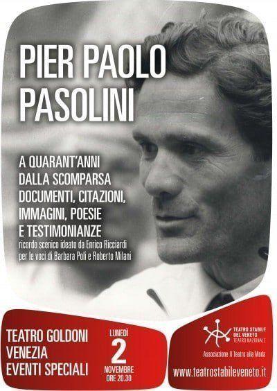 2 novembre 2015 PASOLINI_locandina Goldoni